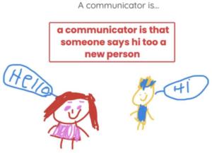 a communicator